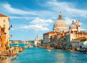 Gorgeous view of the Grand Canal, Venice, Italy