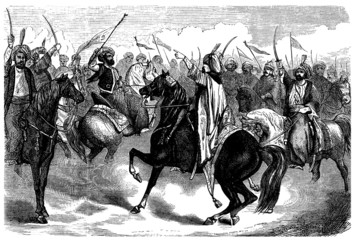 Arabian Warriors - end 18th century