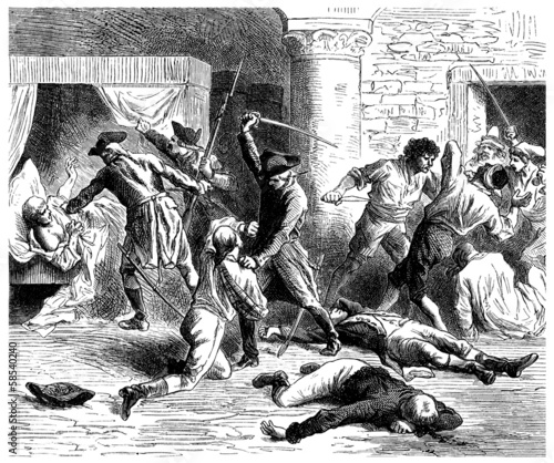 Massacre - end 18th century