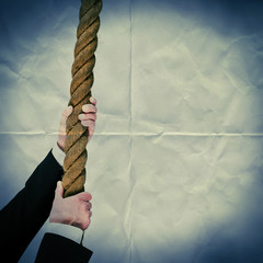 pull rope paper backdrop