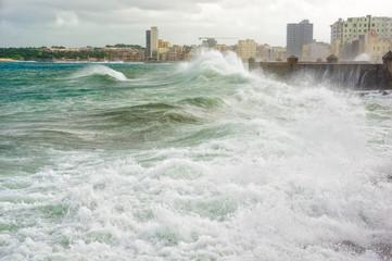 Hurricane in Havana