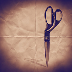 paper scissors backdrop