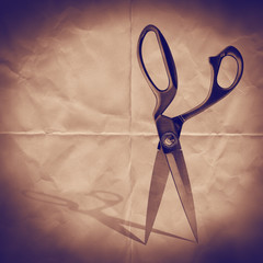 scissors paper backdrop
