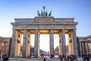 Brandenburg Gate in Berlin - Germany