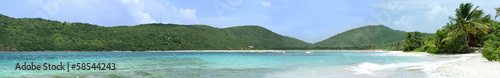 Flamenco Beach Culebra Panoramic View © ArenaCreative