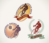 Bicycle race labels