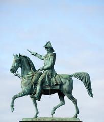 Statue of Charles XIV John former king of Sweden (Stockholm)