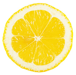 Cut a piece of lemon