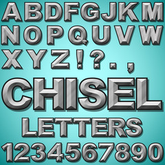 Chiseled Letters