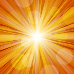 Sunlight with Lens Flare