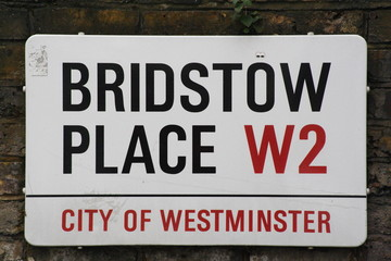 Bridstow Place a famous London Street