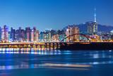 Fototapety Seoul at night