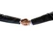 handshake between two businessmen