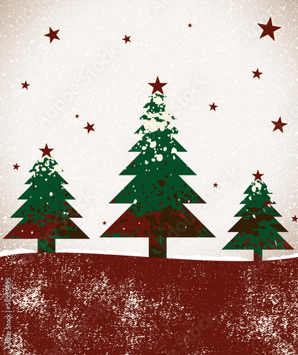 Vector decoration background for christmas