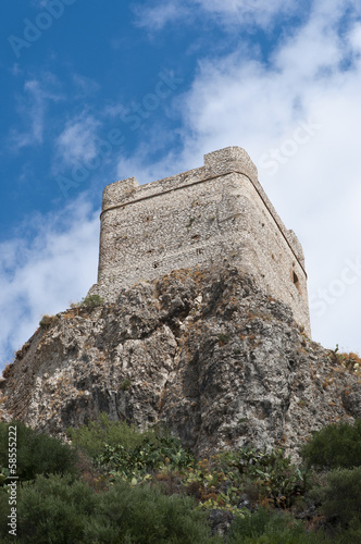 Castle of Zahara de la Sierra, Spain