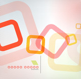 Fototapety Abstract background geometric square shape