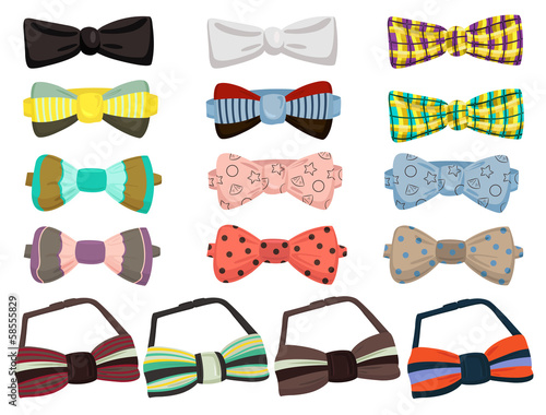 Set of bow ties - 58555829