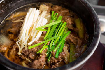 Korean cuisine, Bowl of beef soup