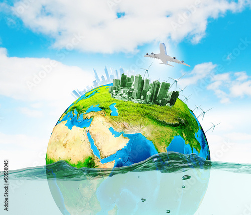 Leinwandbild Motiv Ecology concept