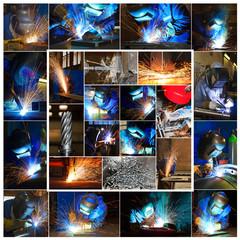 Metallindustrie - Collage