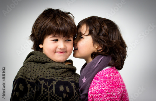 boy and girl portrait