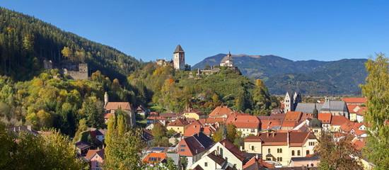 Panorama Friesach / Kärnten / Österreich