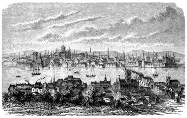 London : City View - 17th century