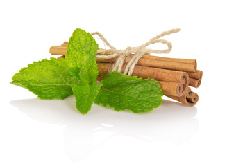 Spearmint with cinnamon