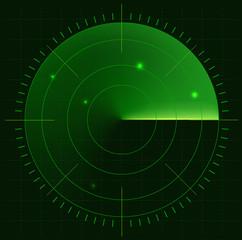 Radar screen eps10