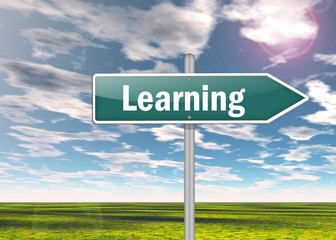 "Signpost ""Learning"""