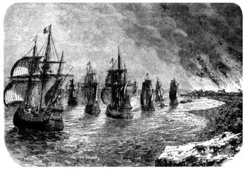 War Ships - 17th century