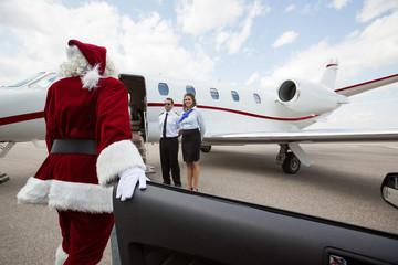 Luxury VIP santa with Private Jet