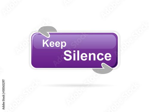 Keep silence message board