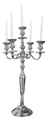 Old silver candlestick