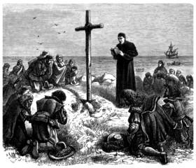 Pilgrim Fathers - Pères Pélerins - Pilgervater - 17th century