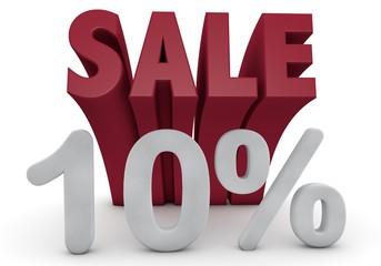 10 Prozent %