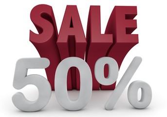 50 Prozent %