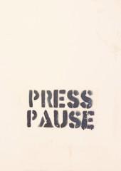 press pause street art