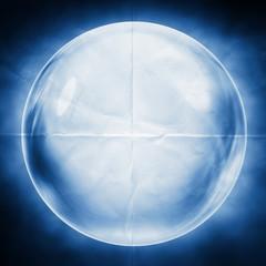 crystal ball paper backdrop