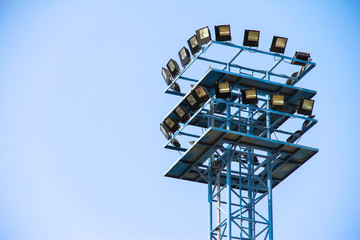 metal light tower