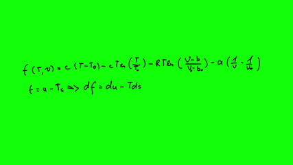 Animation of complex equation appearing