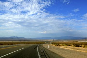 désert de Mohave,depuis la Route 66, Arizona