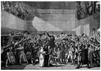 Serment du Jeu de Paume (1789) - French History
