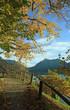 Wanderweg Schliersee im Herbst