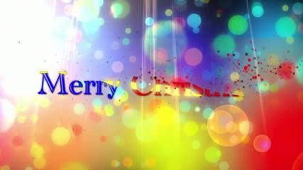 Felice natale e anno nuovo colorati