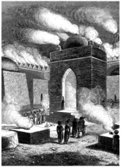 Fire Temple : Baku - 19th century