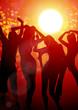 Obrazy na płótnie, fototapety, zdjęcia, fotoobrazy drukowane : summer party - beach party