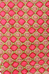 Patchwork Hintergrund bunte Ornamente großflächig