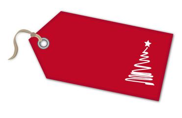 Weihnachtsanhänger Tannenbaum - Vektor