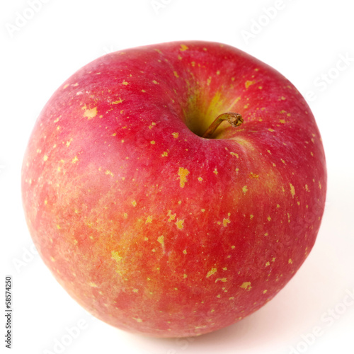 Fresh Japanese apple isolated